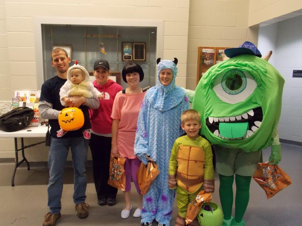 Great Turn Out For Trick-or-Treat Night