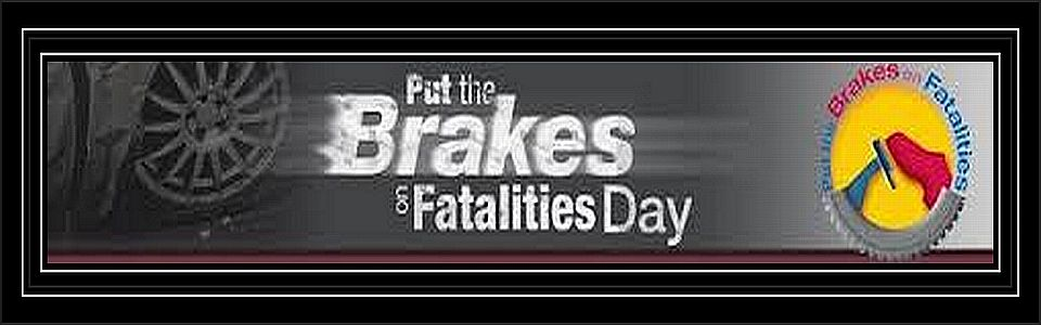 Put the Brakes on Fatalities Day Poster Contest