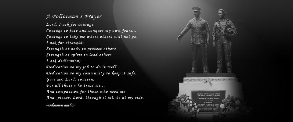 Policeman's Prayer Image